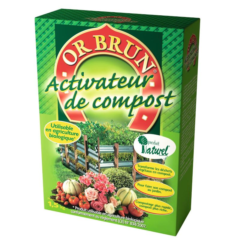Activateur de compost OR BRUN